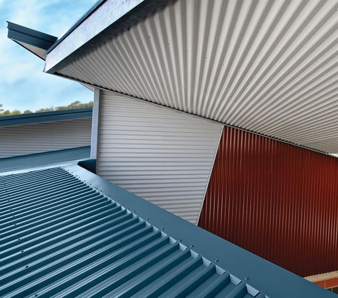 Metal Roof Flashing In Sydney Zincalume Material